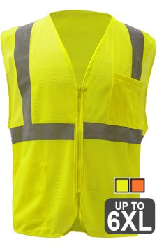GSS Mesh 3 Pocket Zipper Vest