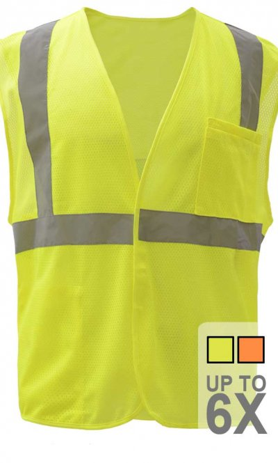 Hook and Loop Safety Vest