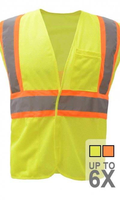 Contrasting Safety Vest