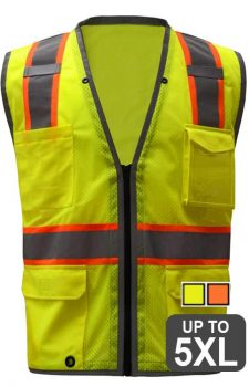 GSS Safety Vest With IPad/Tablet Pocket