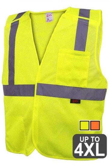Reflective Breakaway Safety Vest