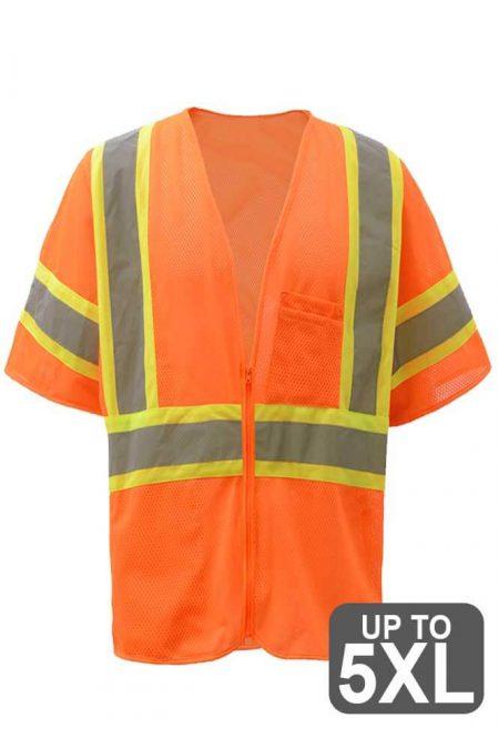Class 3 Safety Orange Vest