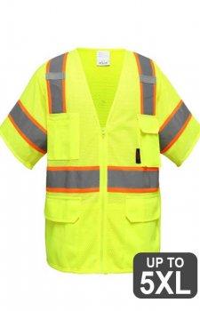 GSS Class 3 Premium Vest With 6 Pockets