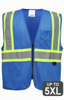 GSS Royal Blue Non-ANSI Vest