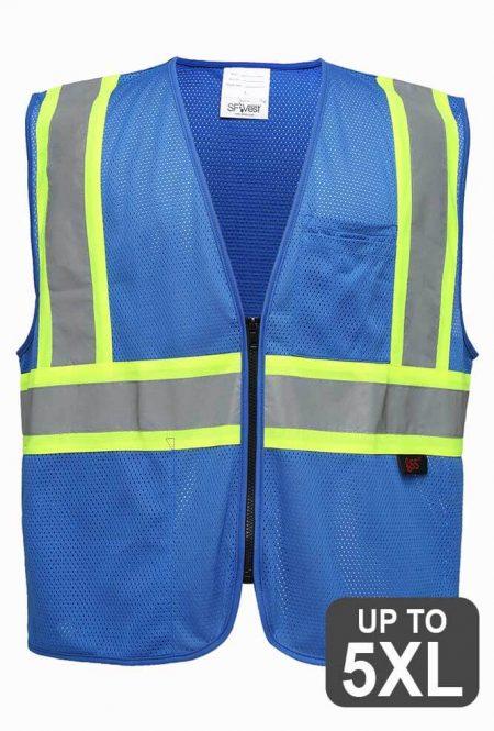Royal Blue Safety Vests