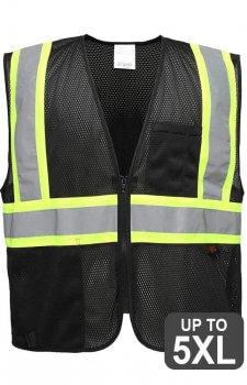 GSS Black Non-ANSI Vest