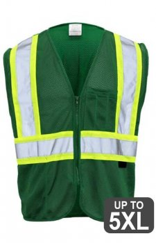 GSS Green Non-ANSI Vest