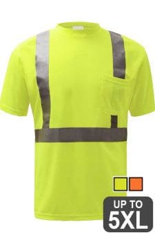 GSS Class 2 Shirts With Reflective Stripes
