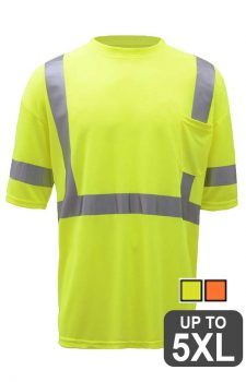 GSS Short Sleeve Class 3 Safety Shirt