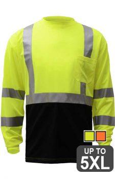 GSS Class 3 Black Bottom Long Sleeve Shirt