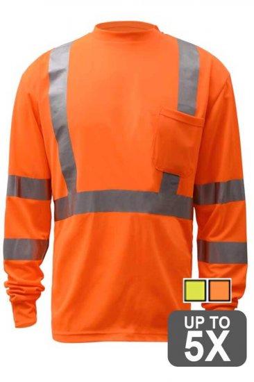 Long Sleeve Class 3 Safety Shirt