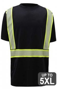 GSS Non-ANSI Two Tone Safety T-Shirt