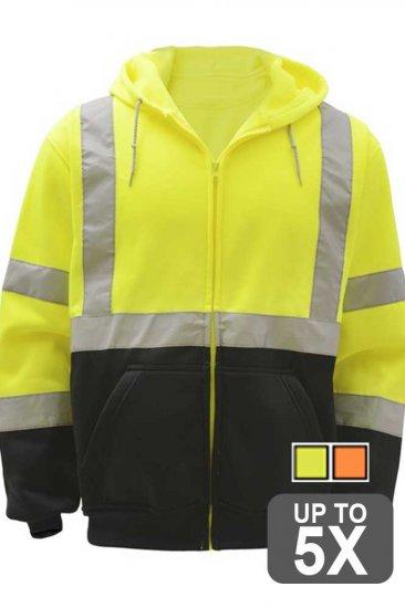 Class 3 Zip Hooded Sweatshirt