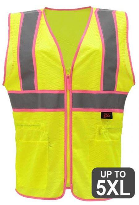 Ladies Reflective Safety Vest