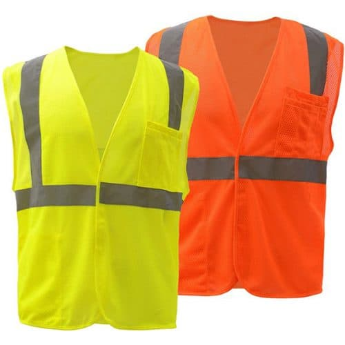 Class 2 Safety Vest with velcro closure