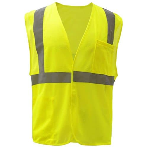 Class 2 Reflective Safety Green Vest