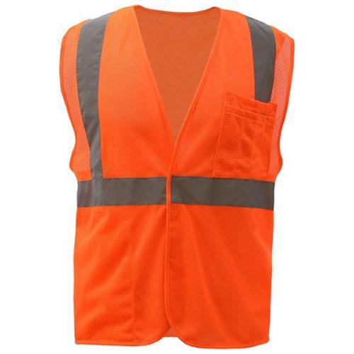 Reflective Safety Orange Vest