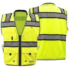 GSS ONYX Class 2 Surveyors Safety Vest