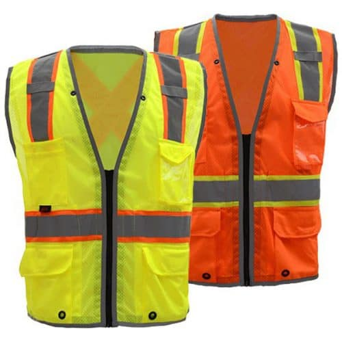 GSS Safety Vest with X Back