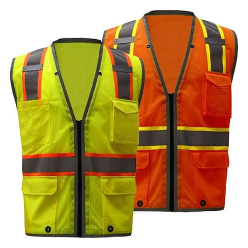 Safety Vest with iPad Pocket