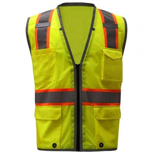 Safety Vest with Tablet Pocket