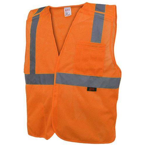 Breakaway Safety Vest in Safety Orange