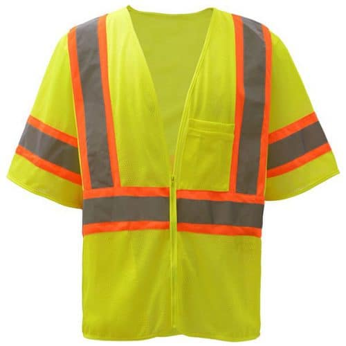 Safety Green Class 3 Vest