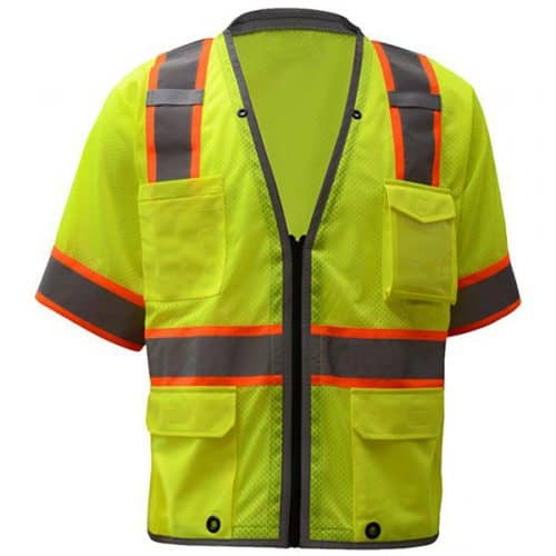 GSS Premium Class 3 Safety Green Vest