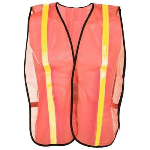 Economy Safety Orange Vest