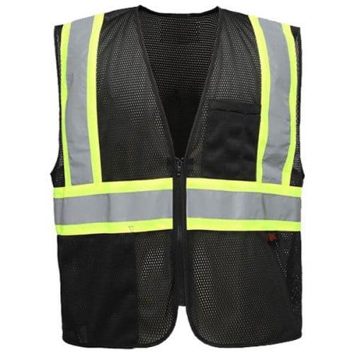 Black Safety Vests