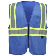 GSS Royal Blue Non-ANSI Vest