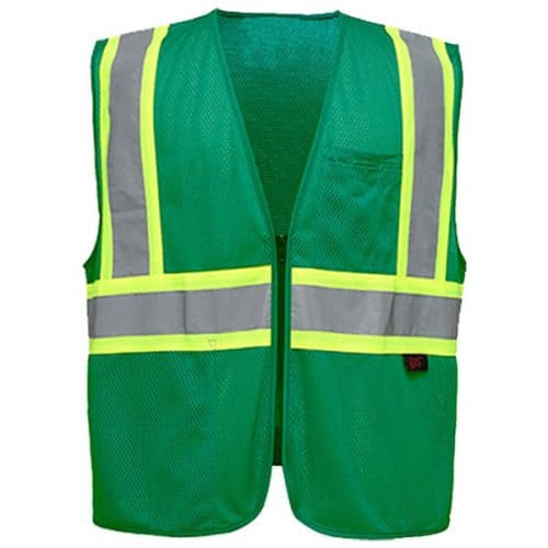 Non-ANSI Safety Vest in Green