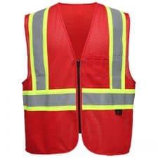 GSS Red Non-ANSI Vest