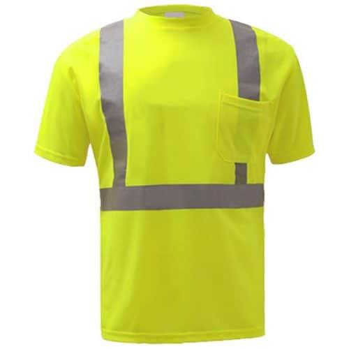 GSS Safety Green Reflective Shirt