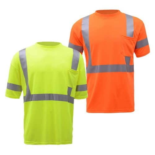 GSS Class 3 Reflective Safety Shirts