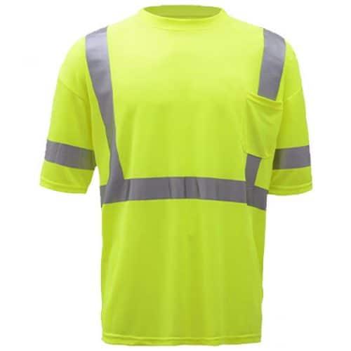 GSS Class 3 Safety Green Shirt