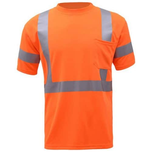 GSS Safety Orange Reflective Shirt