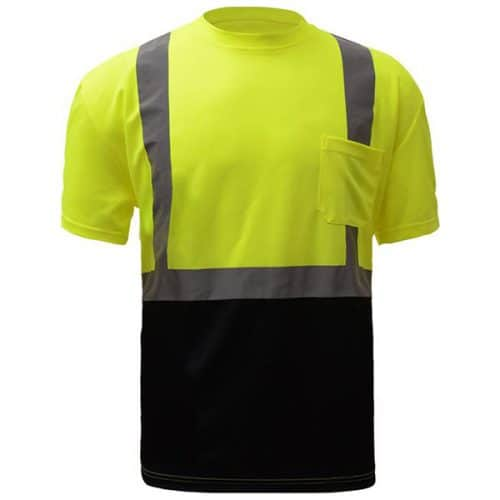 Safety Green Reflective Shirt