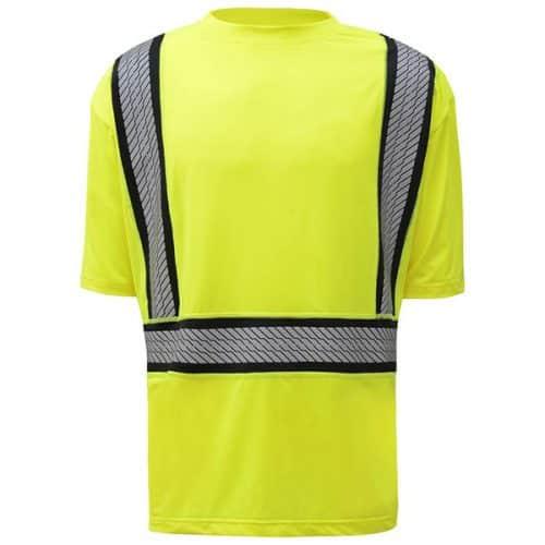 GSS Class 2 Safety Green Reflective Shirt