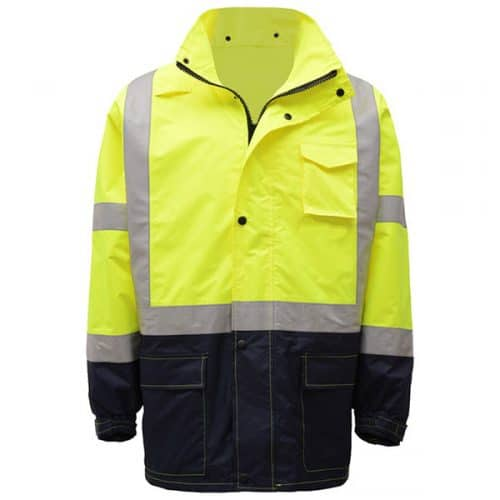 GSS Hooded Rain Safety Jacket