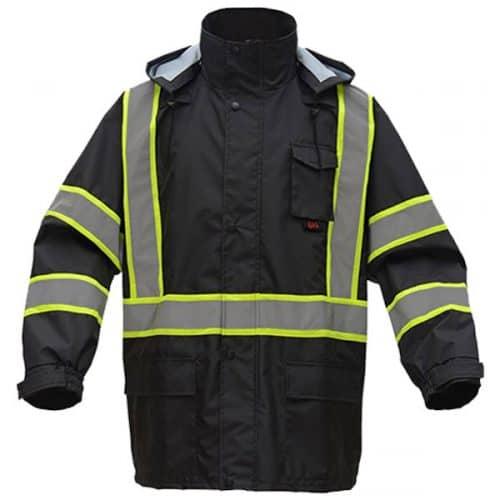 GSS Black Rain Jacket