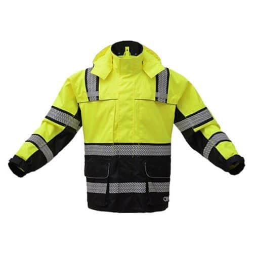 Safety Green Raincoat