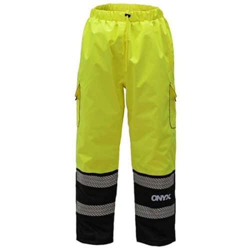 GSS Onyx Safety Green Rain Pant