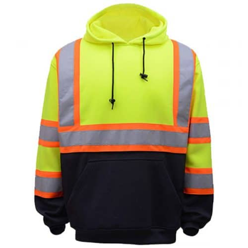 GSS Two Tone Safety Hooded Sweatshirt