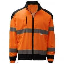 GSS Class 3 Windbreaker Jacket In Safety Orange