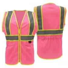 GSS Safety Pink Ladies Vest