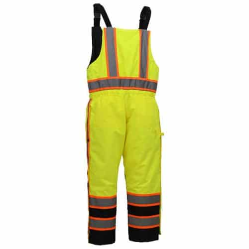 Safety Green Insulated bibs
