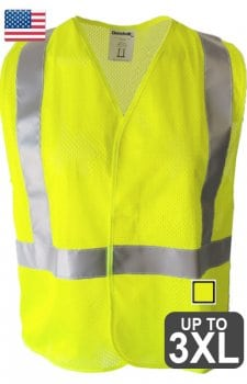 US Made Class 2 Safety Vest