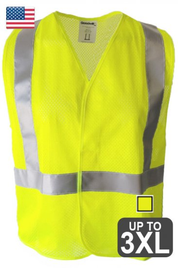 US Made Goodwill Safety Vest