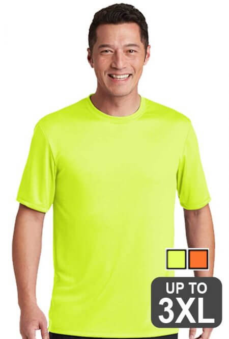 Hanes Performance Safety Orange Tee